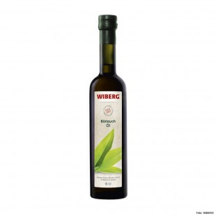 Wiberg wild garlic oil, virgin olive oil extra 99.9% with wild garlic extract 500ml
