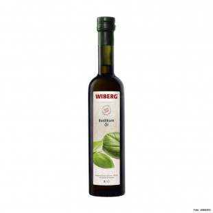 Wiberg basil oil, virgin olive oil extra 99.9% with basil extract 500ml
