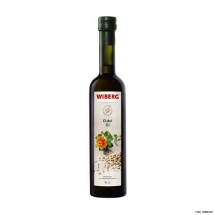 Wiberg safflower oil - cold pressed from safflower seeds 500ml