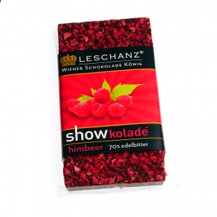 Leschanz Dark Chocolate Raspberry 50gr