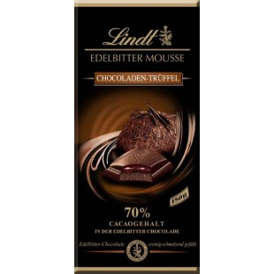 Lindt chocolate extra dark truffle mousse 150gr