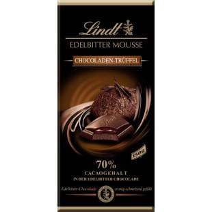 Lindt Schokolade Edelbitter Mousse Trüffel 150gr