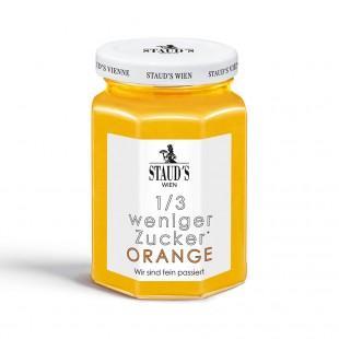 Stauds zuckerreduzierter Fruchtaufstrich Orange fein passiert 200gr