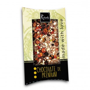 Ritonka Milch-Schokolade Johannisbeere, Pflaume, Zimt 95gr
