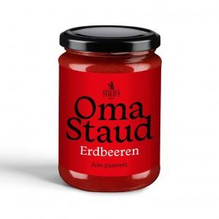 Oma Staud Strawberry Jam finely sieved 450gr