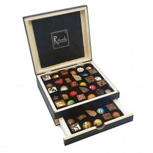 Ritonka Pralines Deluxe Wood box 55 pc 360gr