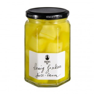 "Staud's Vegetables - ""Honey Gherkins - sweet sour"" 314ml"
