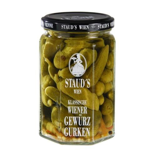"""Staud's Vegetables - """"Gherkins - sweet sour"""" 580ml"""