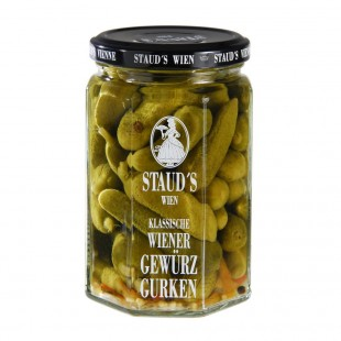 "Staud's Vegetables - ""Gherkins - sweet sour"" 580ml"