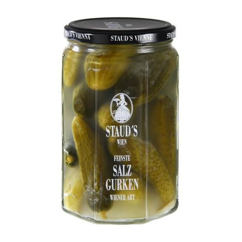 "Staud's Vegetables - ""Salt Fermented Gherkins"" 580ml"