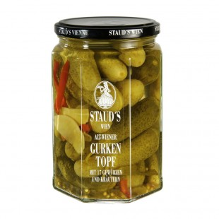 "Staud's Vegetables - ""Gherkins Old Viennese Style"" 580ml"
