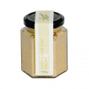 Lustenauer mustard spicy 190g