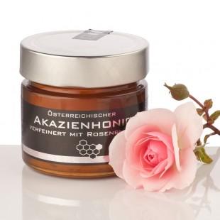 Neber Acacia Honey with Rose Petals 250g
