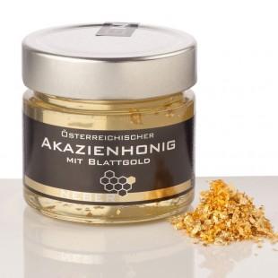 Neber Acacia Honey with Beaten Gold 250g