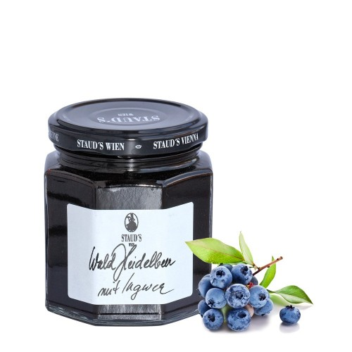 """Staud's Preserve - Limited  """"Forest Blueberry with Ginger"""" 250g"""