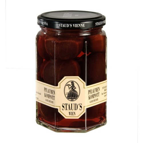 """Staud's  Compote -  """"Plums"""" 314ml"""