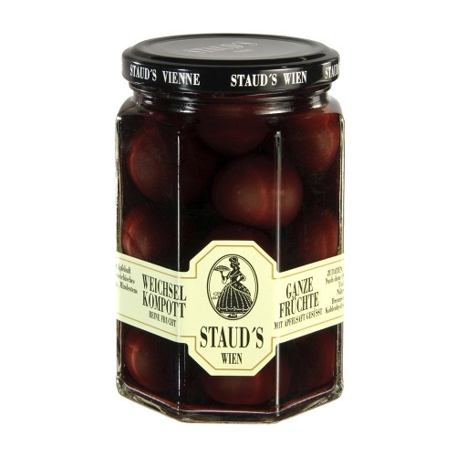 "Staud's  Compote -  Pure Fruit ""Sour Cherry"" 314ml"