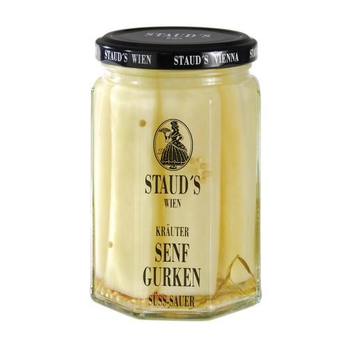 "Staud's Vegetables - ""Mustard Cucumbers"" 314ml"