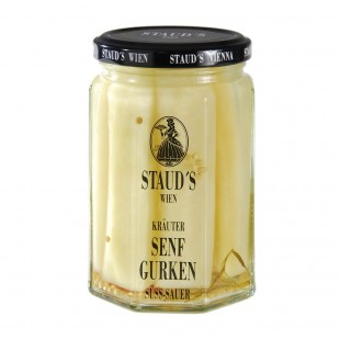 "Staud's Vegetables - ""Mustard Cucumbers"" 314ml"