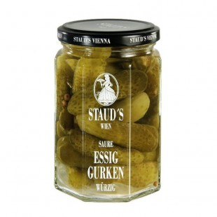 "Staud's Vegetables - ""Vinegar Gherkins"" 314ml"