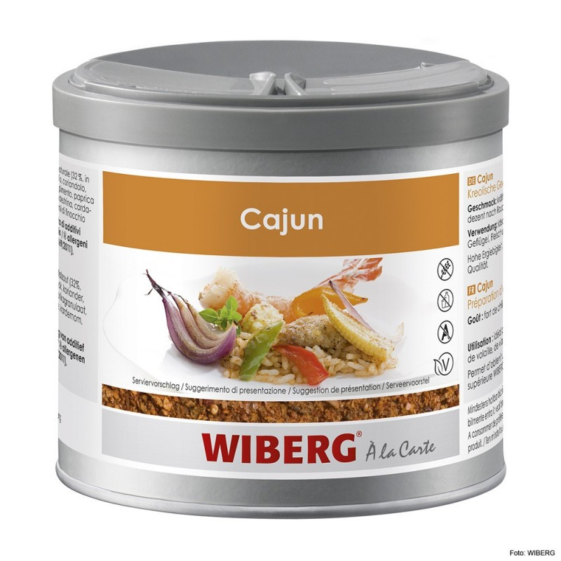 WIBERG Cajun, Creole Seasoning 470ml