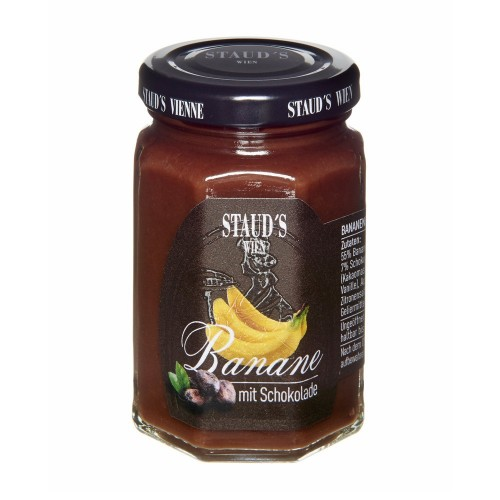 "Staud's Preserve - Fruit Spread ""Banana with Chocolate"" 130g"