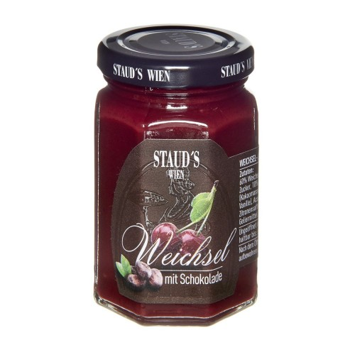 "Staud's Preserve - Fruit Spread ""Sour Cherry with Chocolate"" 130g"