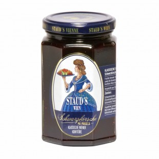 "Staud's Preserve - Classical  ""Black Cherry with Almonds"" 330g"