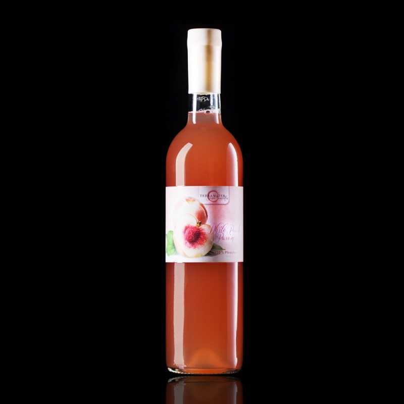 "Terra Mater White Peach Premium Juice ""White Peach Passion"" 750ml"