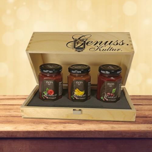 Staud's Preserve - Fruit and Chocolate Gift Set 3 x 130g
