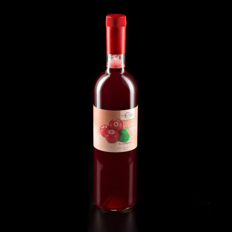 "Terra Mater Cranberry Premium Juice ""Mountain Rubies"" 750ml"