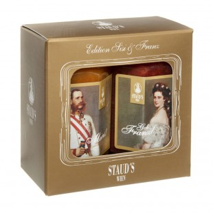 "Staud's Geschenkset ""Edition Sisi & Franz"" 2 x 130g"