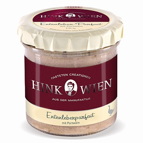 Hink Pastry -  duck liver mousse with port wine 130g