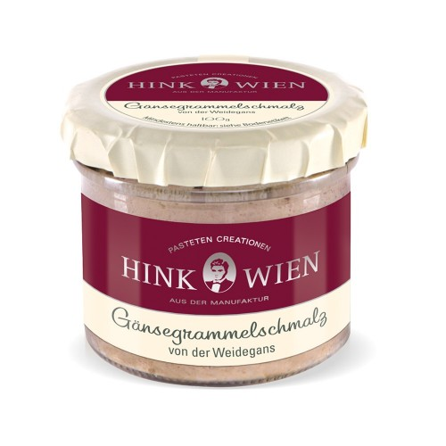 Hink Pastry -  Goose lard from the willow goose 100g