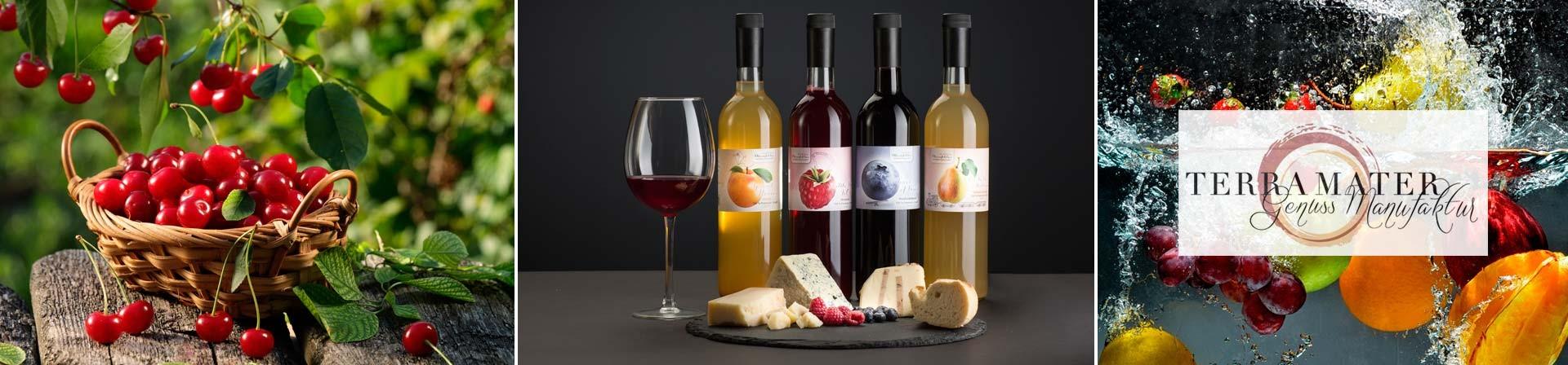 Terra Mater - Ein österreichisches Spitzenprodukt - 100 % Frucht in der Flasche.